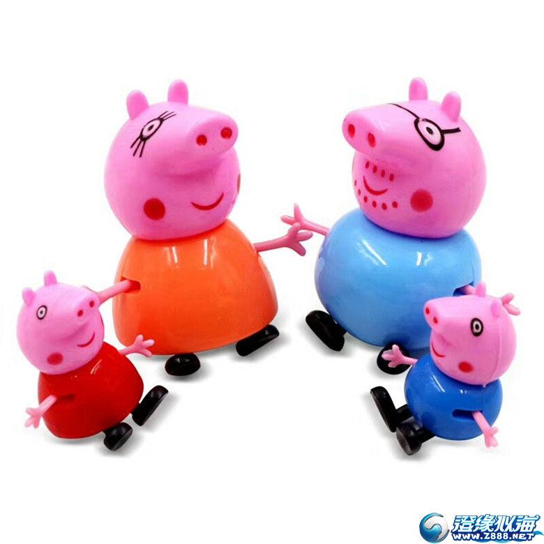 找小猪佩奇一家四口 及过家家玩具可现金