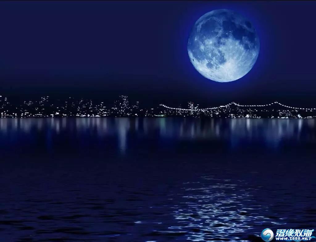 就在今晚!澄海上空将惊现蓝色月亮!错过要再等150年……