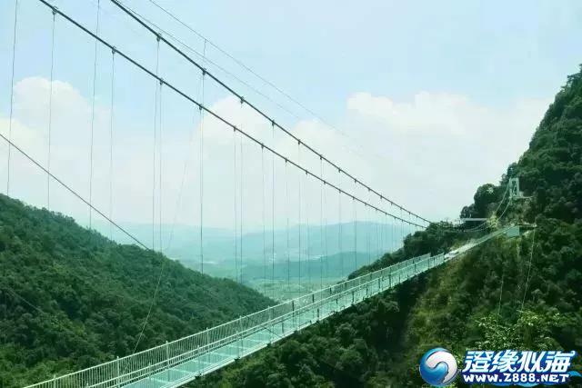 潮汕最惊险268米玻璃桥即将横空出世!