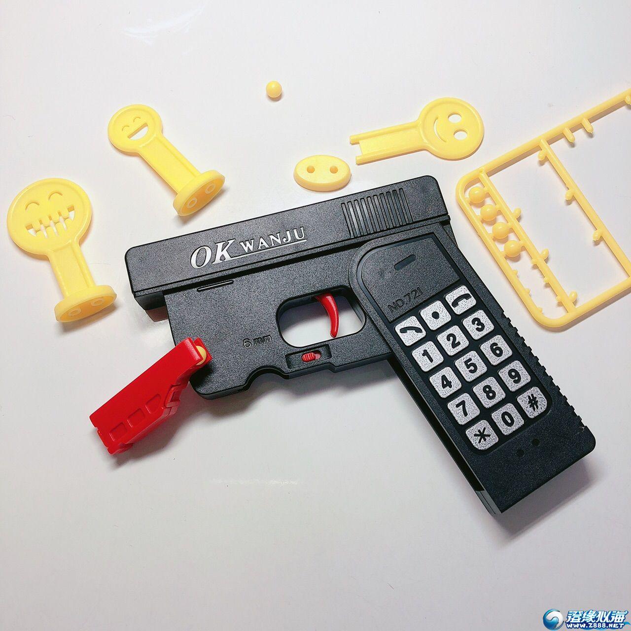 新款手机模型逗豆枪