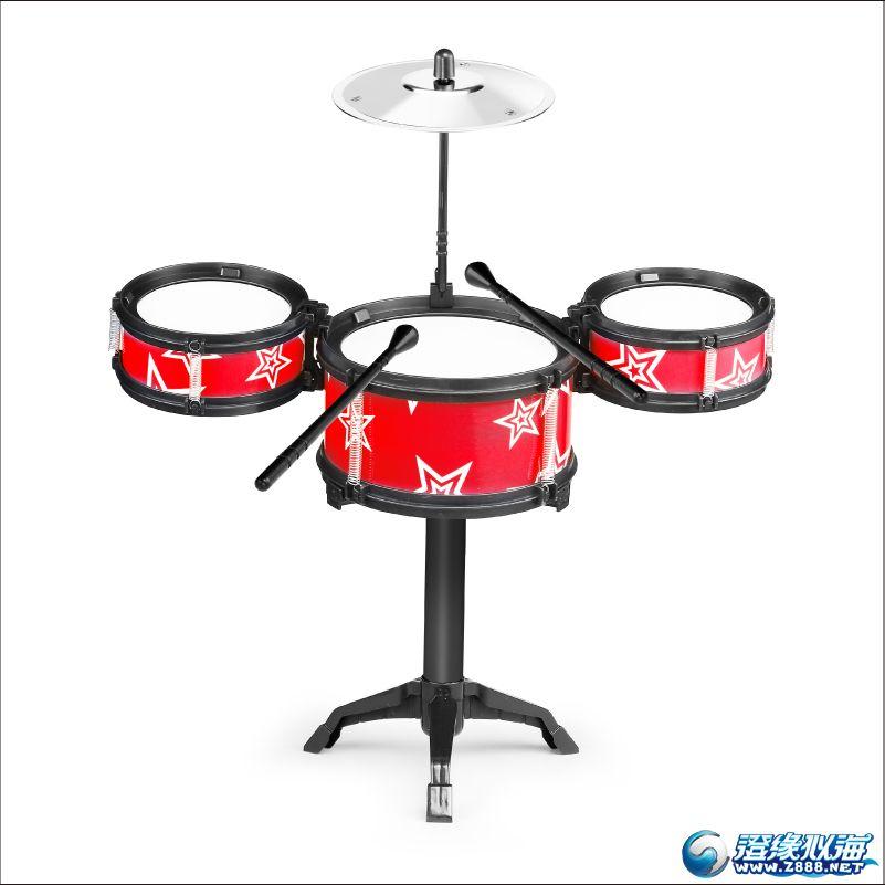 (英文包裝,電商包裝)爵士鼓/架子鼓玩具