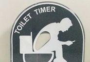 2018.9月新款产品 The Toilet Timer减压计时器 便便沙漏