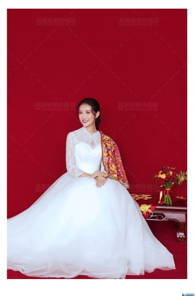 【汕头新新娘婚纱摄影】红鸾心动