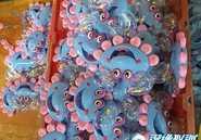 螃蟹手摇铃