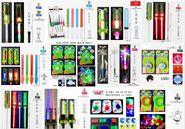 本厂生产低,中,高档,发光闪光系列,款式品种多样,欢迎贸易玩具公司索取图片资料