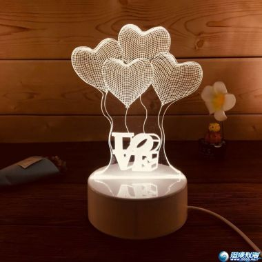 新产品 床头玩具小夜灯 500到1000可订做版式 适合做赠送