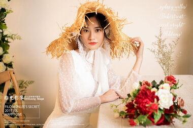 【拾光影像婚纱摄影】一个人的婚纱摄影