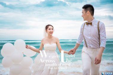 【汕头新新娘婚纱摄影】告白气球