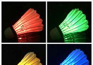亚马逊 速卖通 热卖爆款 厂家直销 工厂直供 LED发光羽毛球