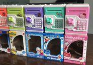 超底价销售 WF-3006ABC玩具存钱柜  ATM BANK