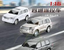裕锦隆玩具厂【2021年新品】1:16仿真四通遥控车
