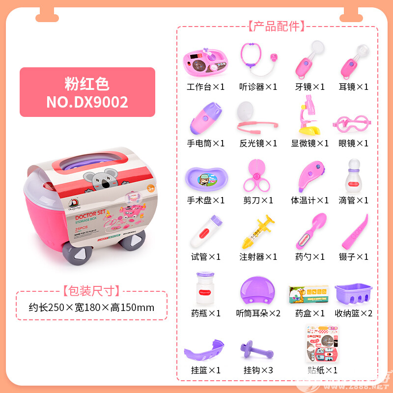 东兴玩具厂-(DX9002)-医用品收纳车-中文版主图5.jpg