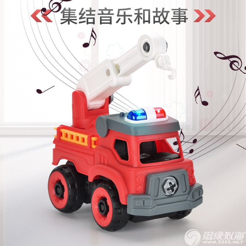 瑞中兴玩具厂-(89-406B)-积木拼装声光消防车-中文主图(4).jpg