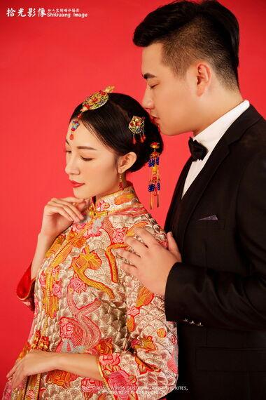 【拾光影像】年味十足的婚纱照!