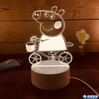 新产品 床头玩具小夜灯 500个到1000可订做版式 适合做赠品