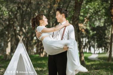 【拾光影像】甜到炸的小清新婚纱照!