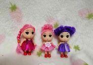 我厂主要生产二寸半三寸半七寸半娃娃迷糊娃娃小凯利娃