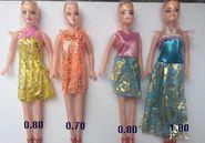 餐具和饰品厂家首选搭配芭比娃娃