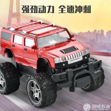 鹏盛玩具厂【2020年新品】1:18遥控悍马越野车